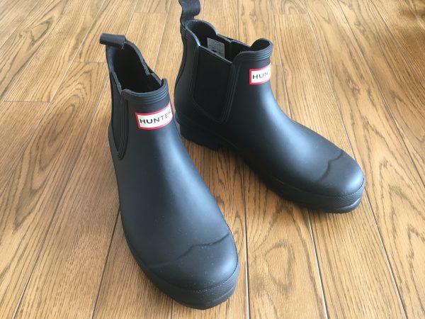 ハンターの長靴「チェルシーブーツ」レビュー|メンズも使えるお洒落レインブーツの決定版!