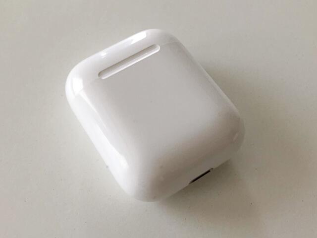 アップルのエアーポッズのケース