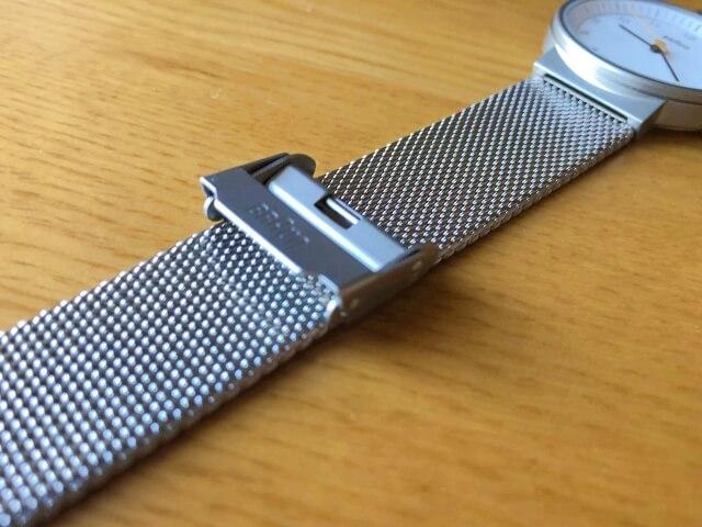 ブラウン腕時計BN0031WHSLMHLのメッシュベルト