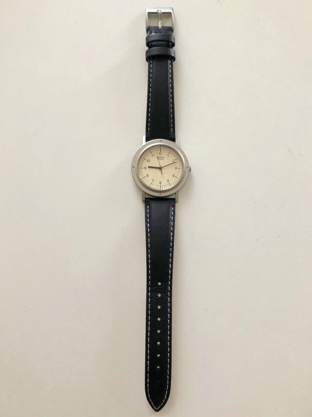 セイコーの時計シャリオの全体デザイン