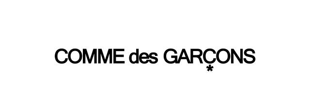 コムデギャルソンロゴ