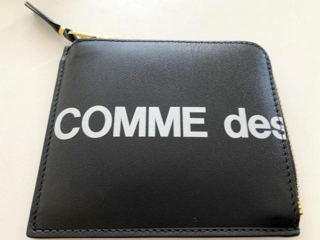 コムデギャルソンのL字ジップ財布の表