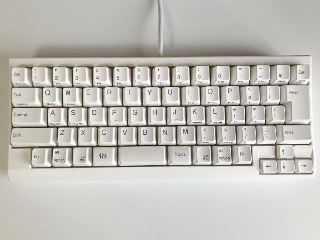 HHKB for macのキー配列