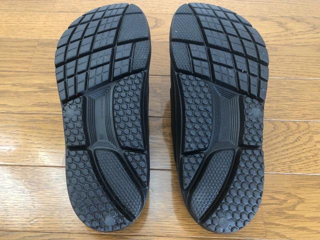 ミズグモの靴底