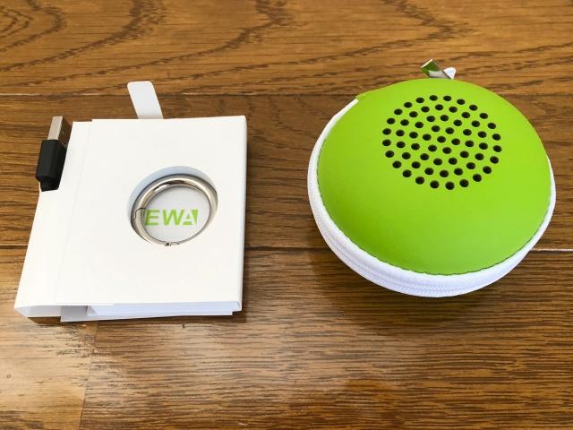 ewaのスピーカーA106の付属品