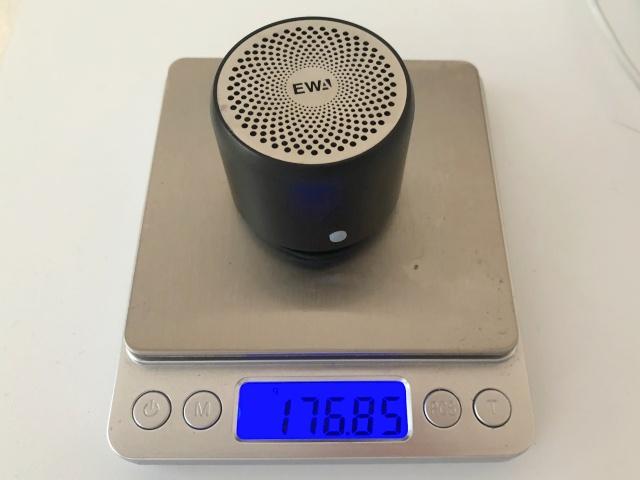 ewaのスピーカーA106の重さ